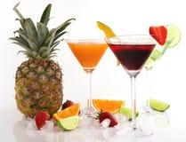 Exotische dranken stock foto
