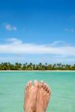 Exotische Füße Stockbilder