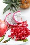 Exotische Früchte Stockfoto