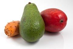 Exotische Frucht und Farben Stockfotografie