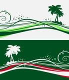 Exotische groen Royalty-vrije Illustratie