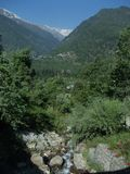 Exotische Himalayan-scène Royalty-vrije Stock Fotografie
