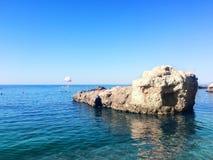 Exotische Küste von Kreta, Griechenland lizenzfreie stockfotografie