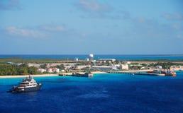 Exotische karibische Insel Lizenzfreie Stockfotos
