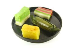 Exotische Kleine Cakes Stock Afbeeldingen