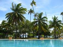 Exotische plaats voor vakantie Stock Fotografie