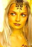 Exotische prinses van legende. Stock Foto
