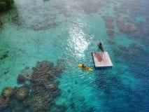 Exotische Pulau Macan stock foto's