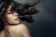 Exotische schoonheid royalty-vrije stock foto's
