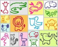 Exotische Tiere Stockfotos