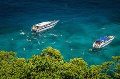 Exotische Tropische laguna Royalty-vrije Stock Foto