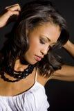 Exotische vrouw Stock Fotografie