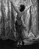 Exotische vrouwelijke danser stock fotografie
