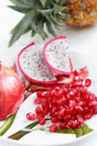 Exotische vruchten Stock Foto