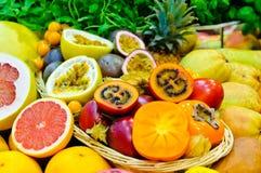 Exotische vruchten Stock Fotografie