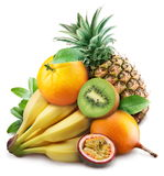 Exotische vruchten. royalty-vrije stock fotografie