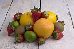 Exotische vruchten stock foto's