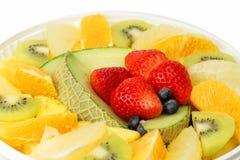 Exotische vruchten verleiding Stock Foto's