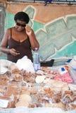 Exotische Waren des Marktes stockfotografie