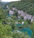 Exotische Wasserfälle, Natur und klares blaues Wasser Lizenzfreies Stockbild