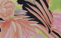 Exotischer abstrakter Blumenhintergrund Stockfoto