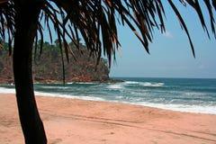 Exotischer Strand lizenzfreies stockfoto