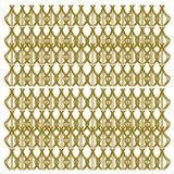 Exotisches Mandala-Luxusgold -- Weißes ethnisches Lizenzfreie Stockfotos