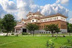 exotisk asiatisk byggnad Arkivbilder
