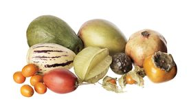 exotisk frukt Arkivfoto