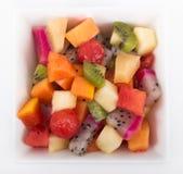 exotisk fruktsallad Arkivbilder