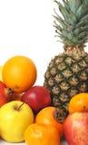 exotisk fruktset Royaltyfri Bild