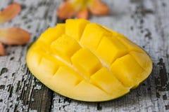 Exotisk mango Arkivbild
