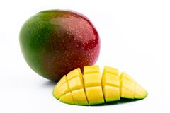 Exotisk mogen mango arkivfoto