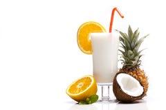 Exotisk Pina Colada drink royaltyfri foto