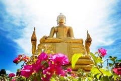 Exotisk resor och affärsföretag Thailand tur Buddha och gränsmärken Arkivfoto