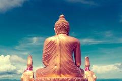 Exotisk resor och affärsföretag Thailand tur Buddha och gränsmärken Royaltyfri Bild