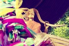 Exotisk resor och affärsföretag Thailand tur Buddha och gränsmärken Royaltyfri Foto