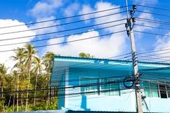 Exotisk resor och affärsföretag Thailand tur Phuket hus Arkivfoto