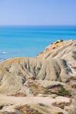 exotisk strand Arkivfoto