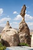 Exotiska Cappadocia arkivfoto