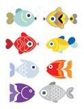 Exotiska fiskar Royaltyfria Bilder