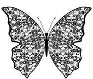 Exotiska fjärilsabstrakt begreppmodeller. vektor illustrationer