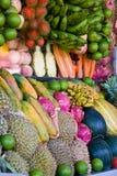 exotiska frukter Royaltyfria Bilder