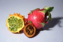 exotiska frukter Arkivbilder