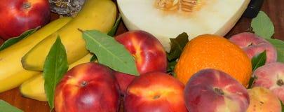 exotiska frukter Royaltyfri Fotografi