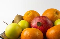 exotiska frukter för sortiment Arkivbilder