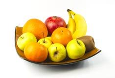 exotiska frukter för sortiment Royaltyfri Bild