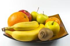 exotiska frukter för sortiment Arkivbild