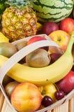 exotiska frukter för sortiment Arkivfoton