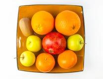 exotiska frukter för sortiment Fotografering för Bildbyråer